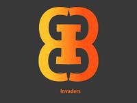 Logo concept invaders
