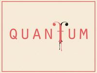 Logo concept Quantum
