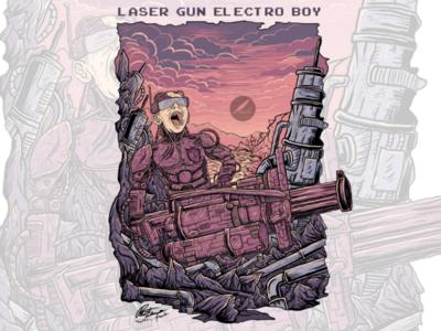 Laser Gun Electro Boy