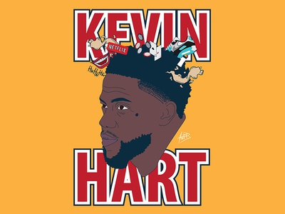 Kevin Hart Illustration