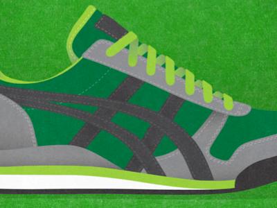 Onitsuka Tiger Ultimate 81 shoes just for kicks illustration