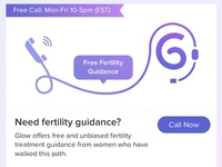 Free call for fertility guidance