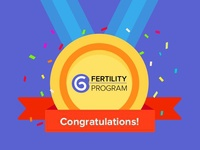Congrats! You are qualified for Glow Fertility Program!