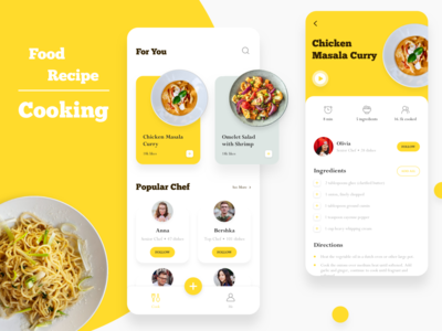 Daily UI 005 - Cooking App