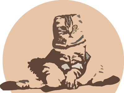 Kucing Duduk