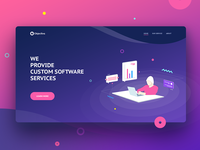 New company website design