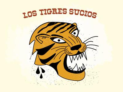 Los tigres sf los tigres tiger t-shirt soccer team
