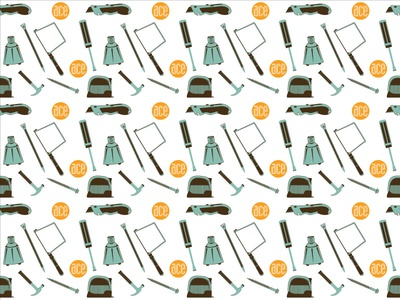 Ace Hardware Pattern package design sf exacto saw screw ace ace hardware tools