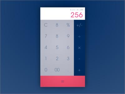Daily Ui 004 calculator 004 daily ui