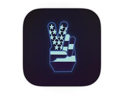 Daily Ui  005 peace app icon 005 daily ui