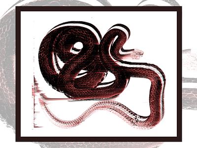 Snake Glitch soon bowieskulls snake