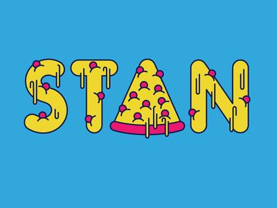 Pizza Stan logo pizza crawl pizza foodie