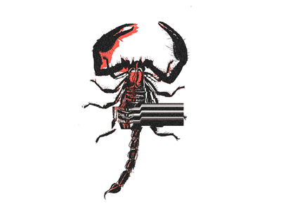 Scorpion Glitch deadly animals glitch glitchart