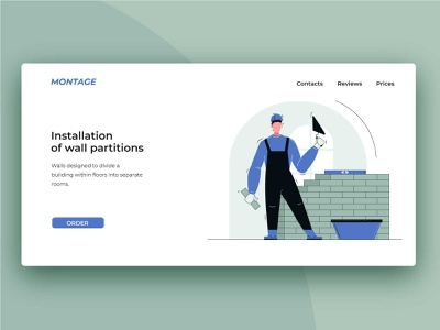 Web montage website vector illustration web illustrator