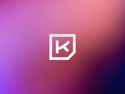 K logo branding identity icon logo