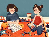 Illustration Maddie Communique