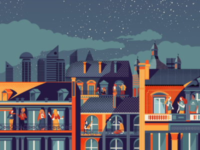 Illustration Skyline Paris