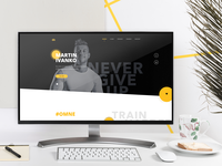 Ivanko Fitness Web - Idea & Copywriting