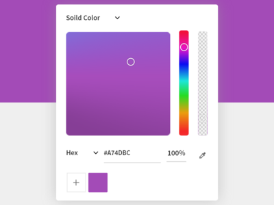 Color Picker ui web app