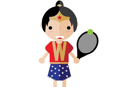 Little Ms Wonder Girl female inspiration quote dc marvel wonder hero heroine