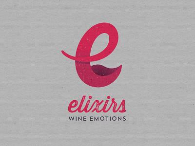 Elixirs Logo 2 logo wine branding mark