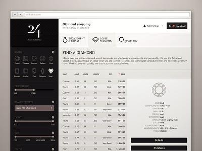 Diamond search page diamond jewelry website