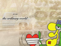 The hero's journey—act one concept visual artwork illustration graffiti art digital pop campbell journey hero