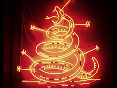 Home of the Brave Neon Sign