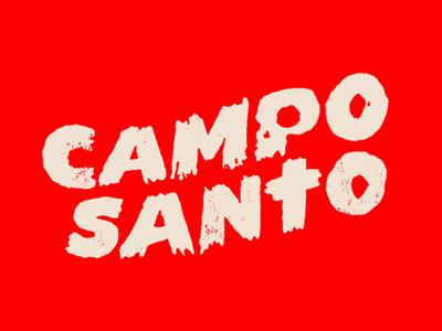 Campo Santo illustration branding