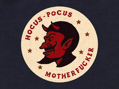 Hocus Pocus! lettering illustration