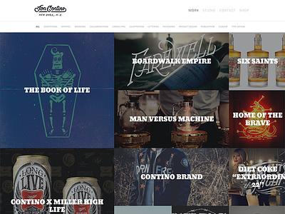 New site! lettering branding design web illustration portfolio