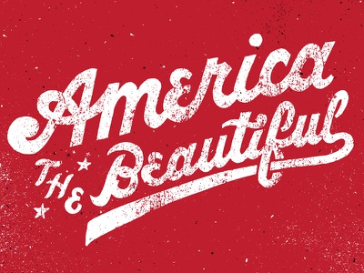 Sports Illustrated Swimsuit 2015, America the Beautiful lettering