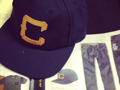 Jon Contino for Matix Clothing lettering collaboration matix apparel hats