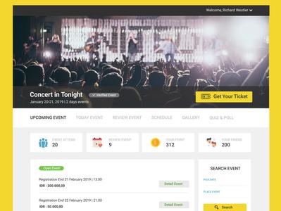 Event Web Design