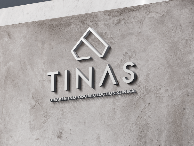 Tinas Dental Clinic Branding repiano branding dental clinic blue teeth pastel diamond minimal luxury abstract