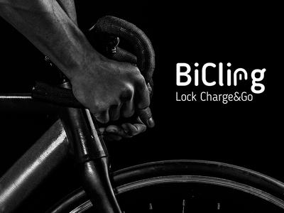 BiCling Branding velo lock repiano bicycle cycle