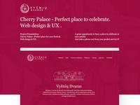 Cherry Palace Web Design