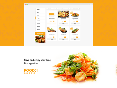 Foodji Recipes system repiano recipe food eat booking