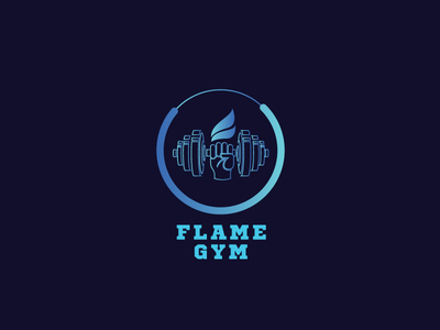 Flame Gym hot hand dumbell repiano gym flame