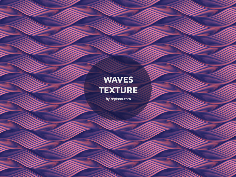 Download Wave Texture Freebie (free vector)