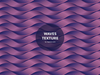 Wave Texture Freebie (free vector)