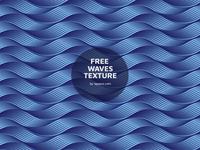 Blue Wave Texture Freebie (free vector)