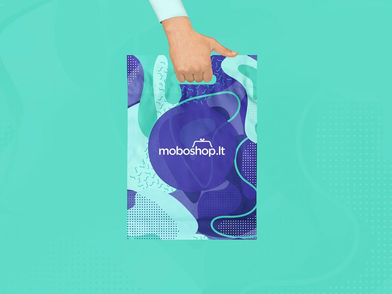 Moboshop Branding savings money save repiano branding bag shop