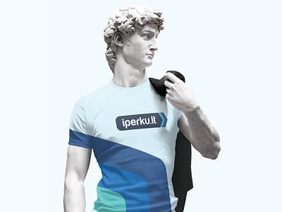 Online Shop Branding soft blue t-shirt branding t-shirt tshirt branding ecommerce online shop