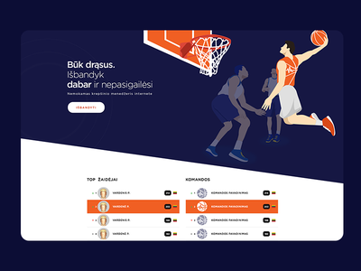 BasketPulse UI/UX user interface user experience uiux ui tomaskor repiano orange online manager manager kawhi game winner basketball player basketball basketball manager