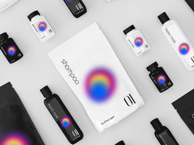 Packaging design of dry shampoos and cosmetics cosmetics packaging cosmetics label cosmetics design shampoo packaging shampoo label shampoo design shampoo package design package design brand grapgic design packaging design