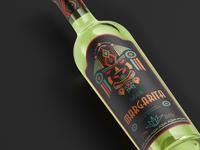 Label Design for Tequila-based Margarita alcohol label alcohol packaging margarita tequila design tequila design tequila label tequila label tequila label packaging labeldesign label package design package design brand grapgic design label design