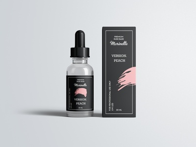 Label and packaging for gel polish
