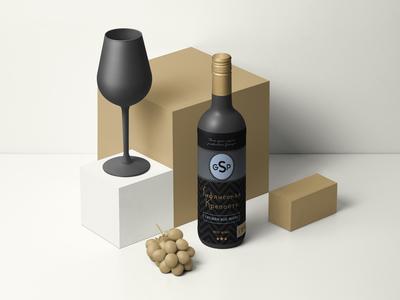 Label Design for Georgian Wine