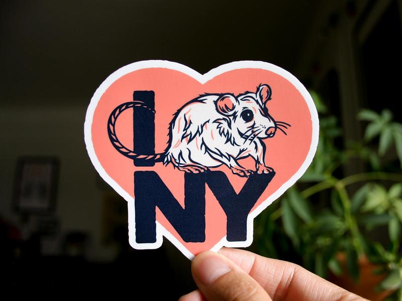 I love NY / Year of the Rat